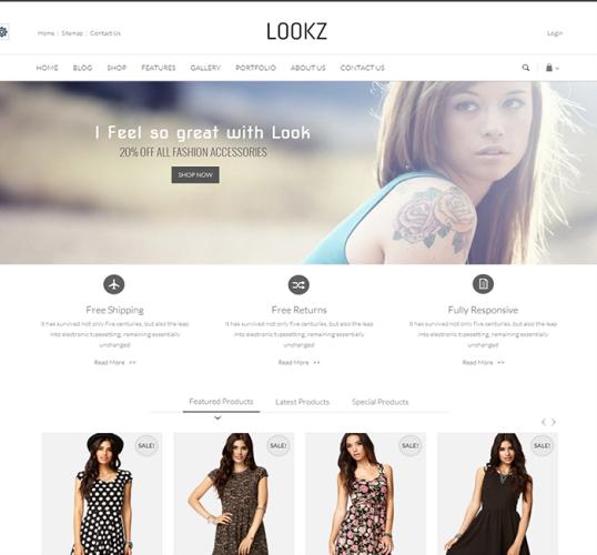 Lookz-ecommerce-theme